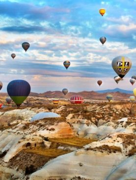 Private Hot Air Balloon Flight in Cappadocia