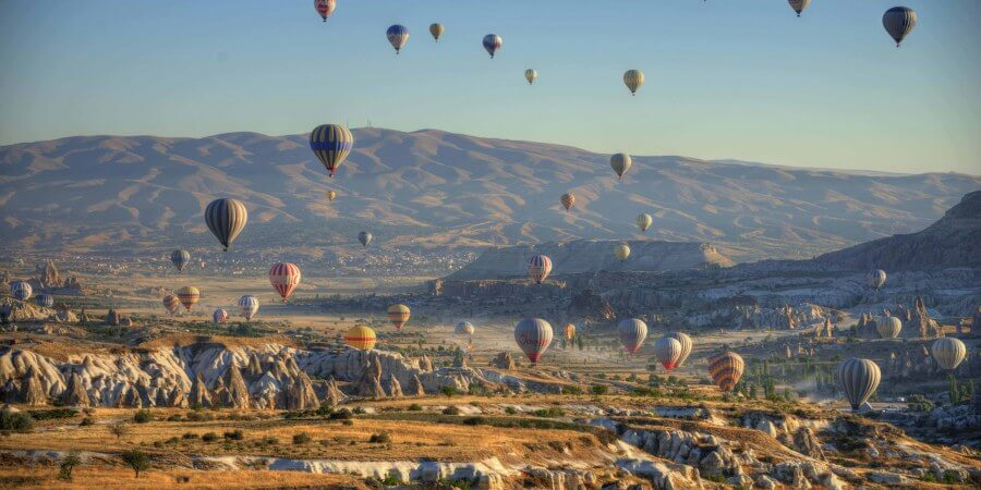 Standard Cappadocia Hot Air Balloon Tours